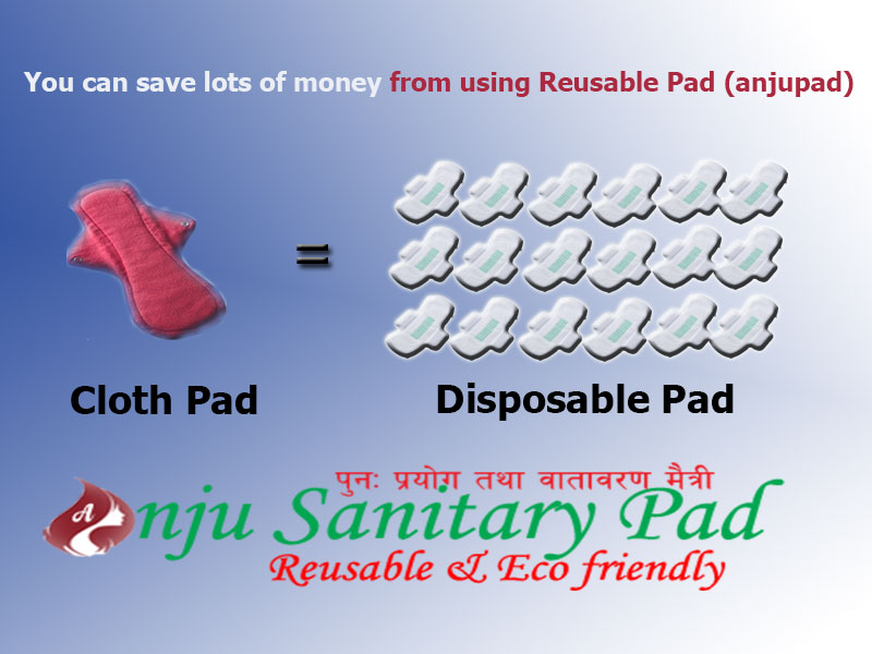 Compare-Disposble-Vs-Reusable-Menstrual-Pad Anju sanitary Pad