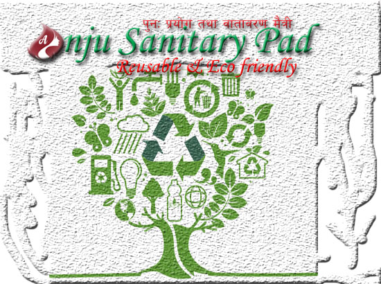 Eco friendly Anju Sanitary Pad